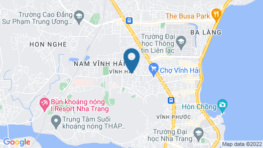 Holiday Hotel & Apartment Map