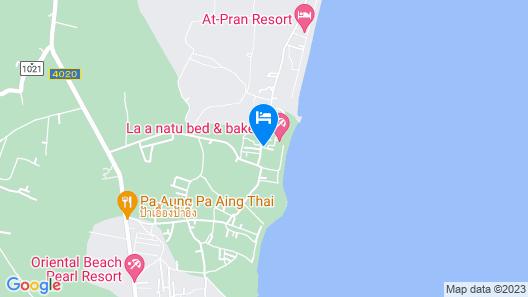 la a natu bed & bakery Map