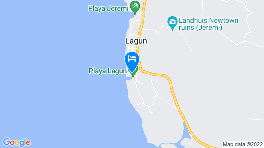 Lagoon Ocean Resort Map