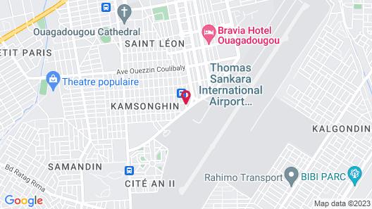 Hotel Sonia Map