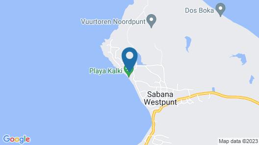 Kura Hulanda Lodge & Beach Club Map