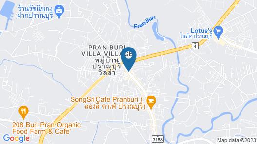 Baan Aom Boutique Pranburi Map