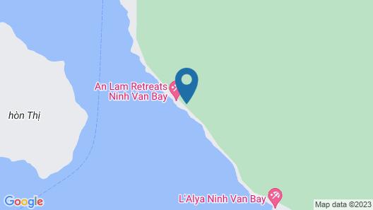 An Lam Retreats Ninh Van Bay Map