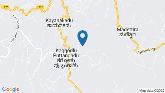 Coorg Wilderness Resort Map