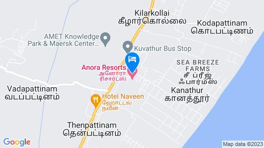 Anora Beach Resort Map
