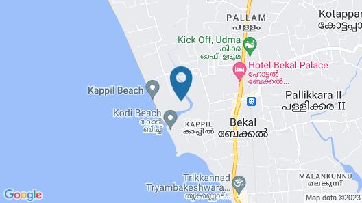 Taj Bekal Resort & Spa, Kerala Map