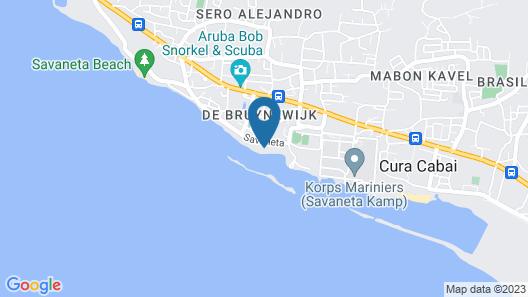 Aruba Ocean Villas Map
