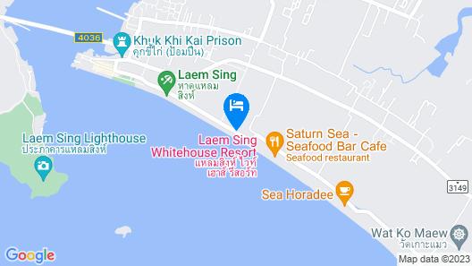 Laemsing Whitehouse Resort Map