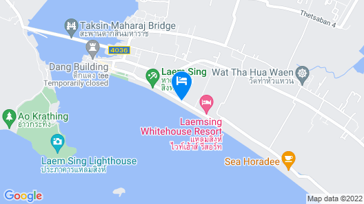 Boom Boom Beach Resort Laem Sing Map