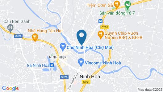 Villa Tra suburb Nha Trang city Map