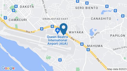 Hyatt Place Aruba Airport Map