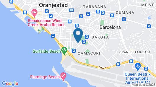 Pega Pega Apartments Map
