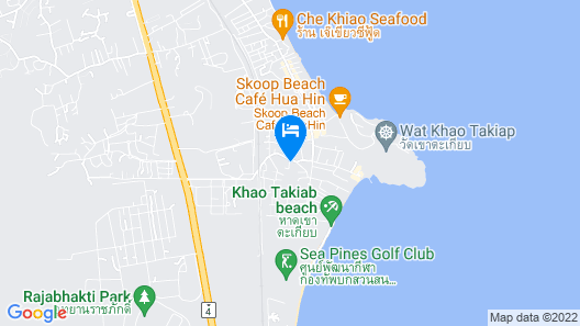 iSanook Resort & Suites Hua Hin Map