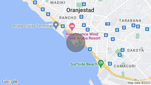 Escape to an Aruban Paradise Resort Map