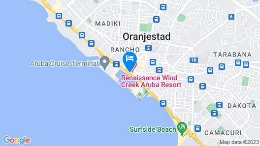 Renaissance Aruba Resort & Casino Map