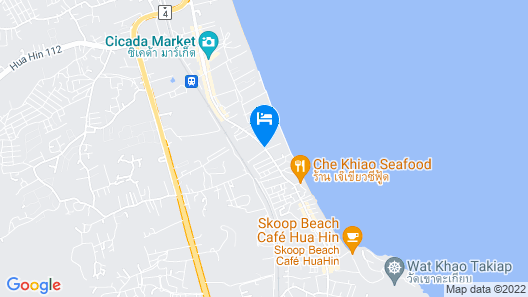 The Rock Hua Hin Boutique Beach Resort Map