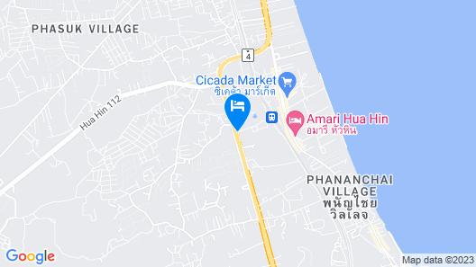 Holiday Inn Resort Vana Nava Hua Hin Map