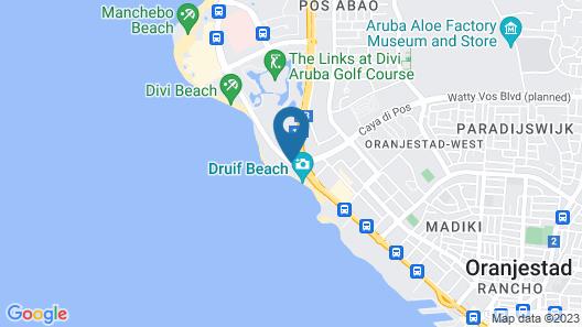 Divi Dutch Village Beach Resort Map