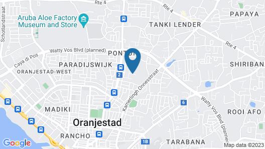 Palmita Hotel Hostel Map