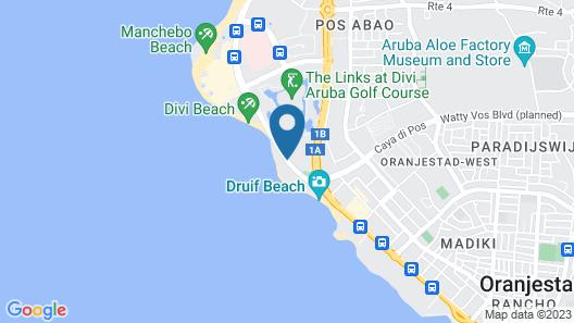 Tamarijn Aruba All Inclusive Map