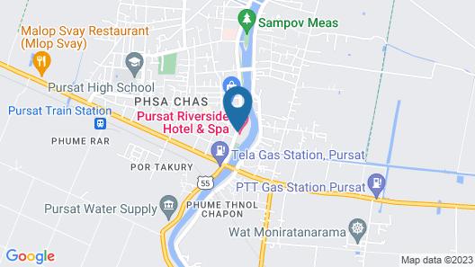 Pursat Riverside Hotel and Spa Map