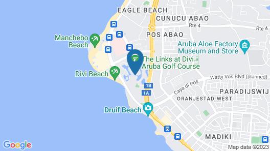 Divi Village Golf & Beach Resort Map