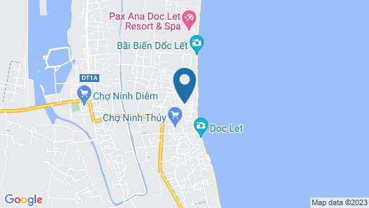 GM Doc Let Beach Resort & Spa Map