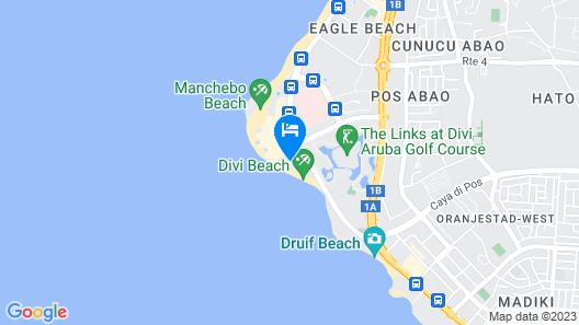 Divi Aruba All Inclusive Map