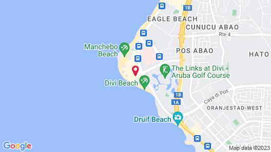 Divi Village All Inclusive Villas Map
