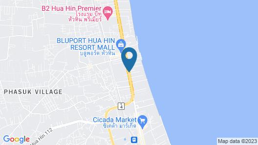 Marrakesh Hua Hin Resort & Spa Map