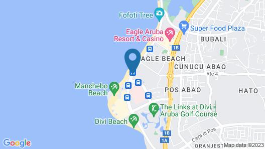 Jardines del Mar Map
