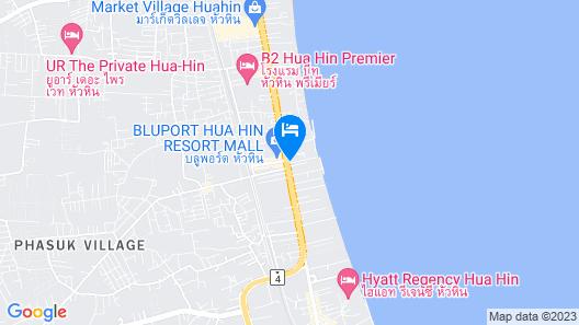 The Peri Hotel Hua Hin Map