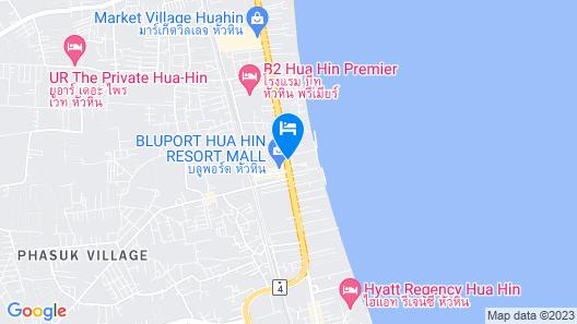 Intercontinental Hua Hin Resort, an IHG Hotel Map