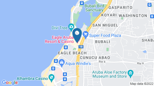 Eagle Aruba Resort & Casino Map