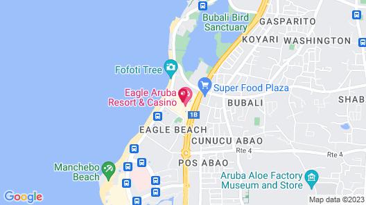 La Cabana Beach Resort and Casino Map