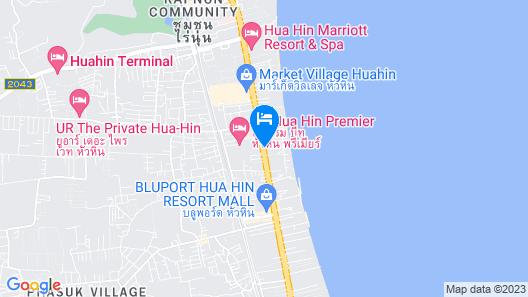 The Sea-Cret Hua Hin Map
