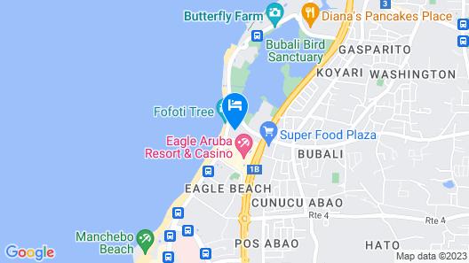 Amsterdam Manor Beach Resort Map