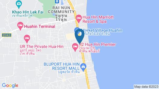 G Hua Hin Resort & Mall Map