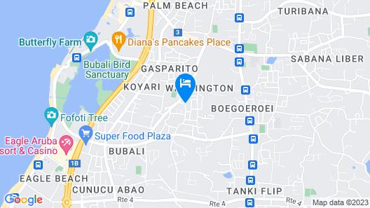 Golden Villas Aruba Map