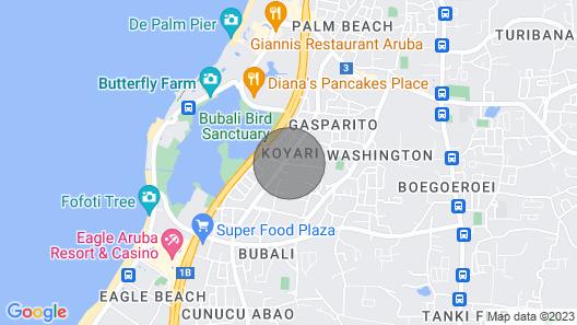 Modernprivatepoolquiet3br2baeagle/palm Beach Map