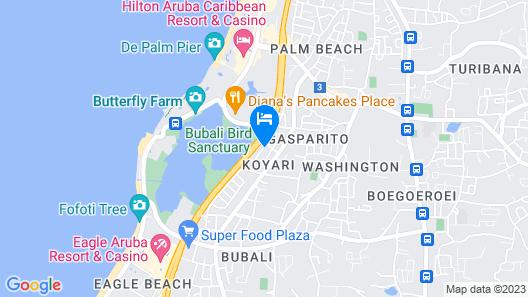 Aruba Tropical Garden Home Map