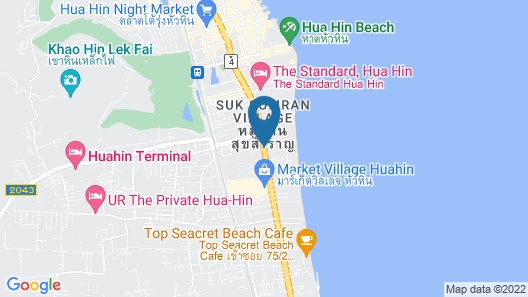 Hua Hin Marriott Resort & Spa Map