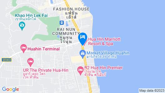 Hua Hin Marriott Resort & Spa Map