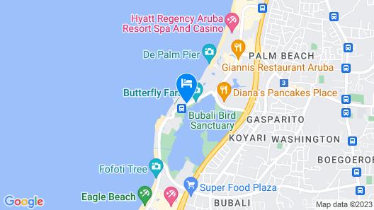 Divi Aruba Phoenix Beach Resort Map