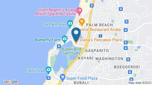 Courtyard Aruba Resort Map
