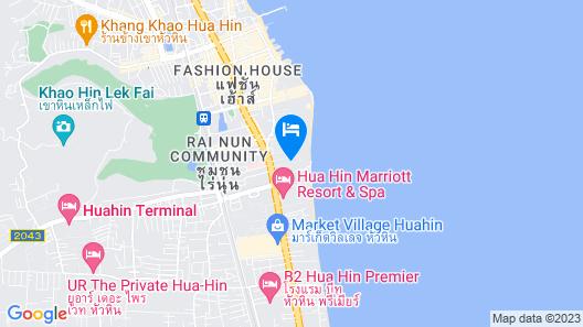 Cape Nidhra Hotel Hua Hin Map
