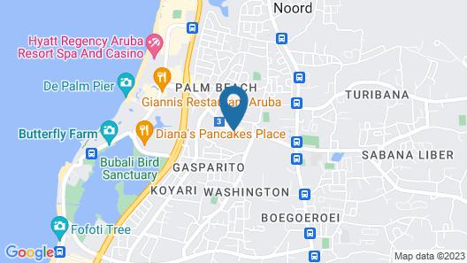 PalmAruba Condos Map