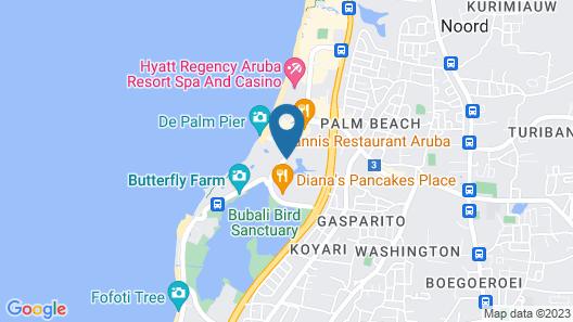 Riu Palace Aruba All Inclusive Map