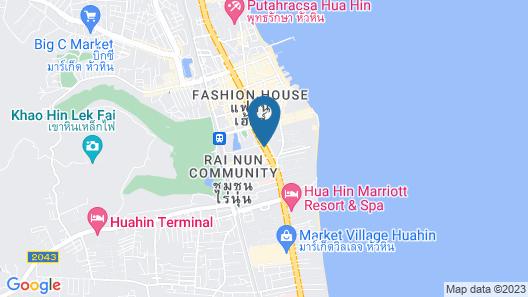Maven Stylish Hotel Hua Hin Map