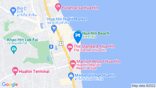 Centara Grand Beach Resort & Villas Hua Hin Map